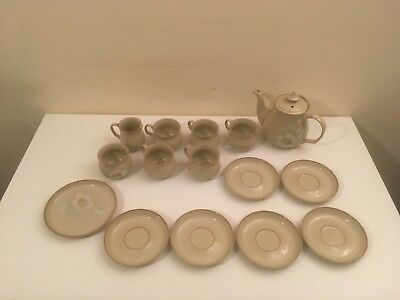 DENBY DAYBREAK COLOROLL Tea Set Bundle Joblot Teapot Mugs Saucers Etc
