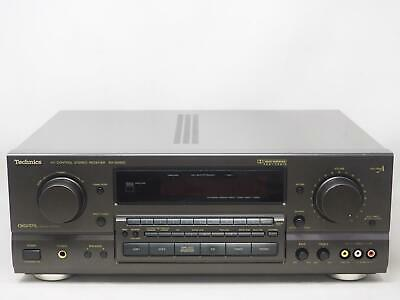 TECHNICS SA-GX650 AV Control Stereo Receive Works Great! Free Shipping!