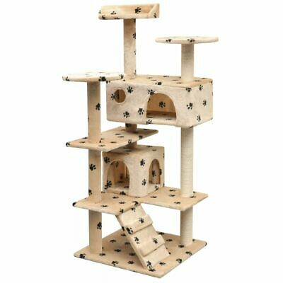 Large Kitten Cat Tree Scratching Post Activity Centre Bed Toys Scratcher Tower A