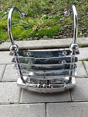Harley Heritage Springer genuine cheesegrater rear bumper