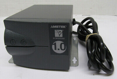 Powervar 1.0 Power Conditioner 2 Outlet Tested 1.00A Out ABC100-11 61012-66R