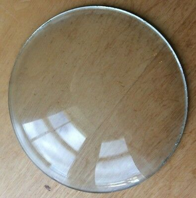 "Vintage Grandfather / Mantle Clock Convex Replacement Glass 4 1/8"" 104.8mm"