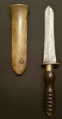 Antique Siebe Gorman & Co Divers - Diving Knife. England, Early 20th Century