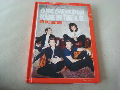 ONE DIRECTION Made in The A.M. Deluxe Edition CD Hard Cover Book 17-Tracks