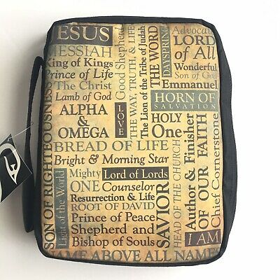 Swanson Bible Cover Names Of Jesus Christ 7.5x10x2 Large NWT