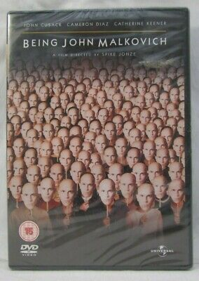 Being John Malkovich 2003 DVD Film New Sealed Free 1st Class Post