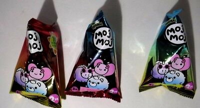 Moj Moj Color Change Series Lot of 3 Pink Yellow Blue Packs Blind Bags New