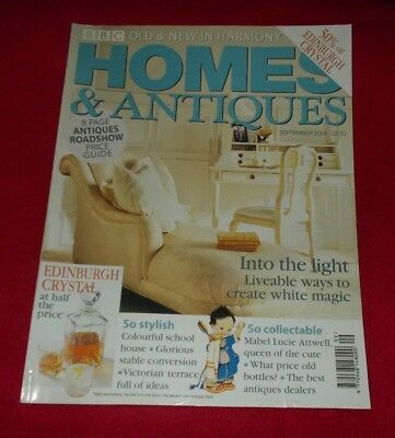 Homes And Antiques Magazine September 2000