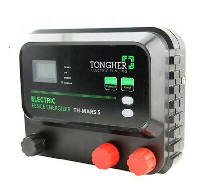 Electric Fence Energiser - 5 Joule, Solar/Battery/Mains
