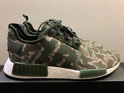 46a39c96427b0 ADIDAS NMD R1 Duck Camo Grey Men s Size 10 DS D96616 Authentic ...