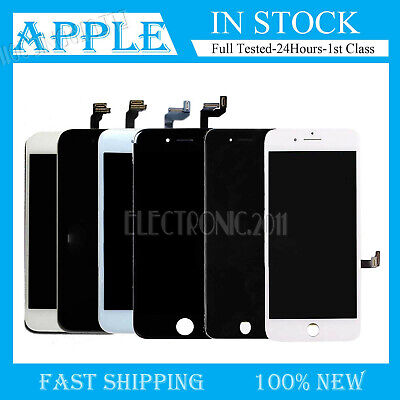 For iPhone 6 LCD Touch Digitizer Full Screen Replacement with Home Button Camera
