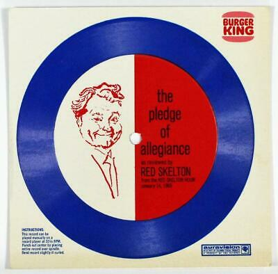Red Skelton, The Pledge of Allegiance on Burger King Flexi-Disc Record 1969