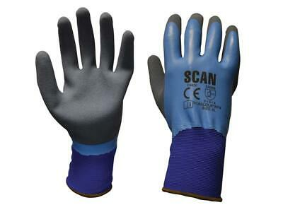 Scan SCAGLOLATWPX Waterproof Latex Gloves - Extra Large (Size 10)