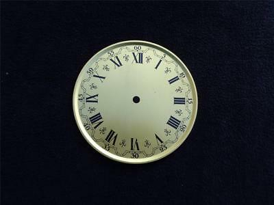 Brass Dial Mantle Shelf Wall Clock Seth Sessions Gilbert Ingraham N.O.S