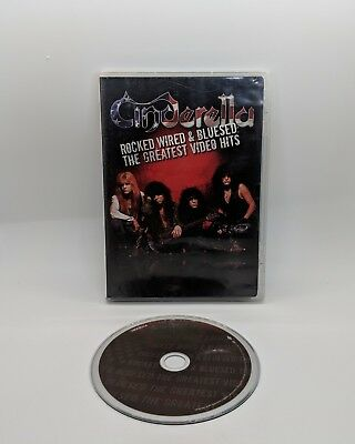 Cinderella Rocked Wired & Bluesed  The Greatest Video Hits DVD OOP Rare Complete