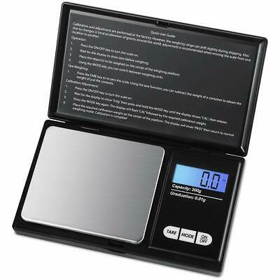 200g 0.01g LCD Digital Mini Scale Jewelry Gold Gram Balance Pocket Weight Scale