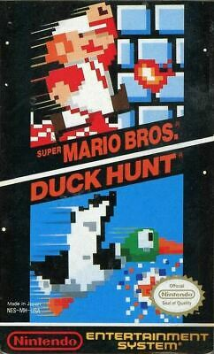 Super Mario Bros. / Duck Hunt - NES Game *Tested & Cleaned*