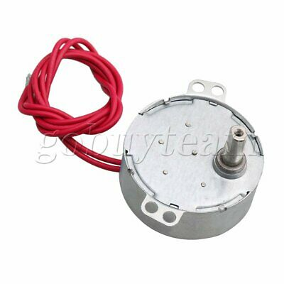AC 5V Synchronous Gear Motor 8-10rpm for Crafts Rotate Exhibition Motor