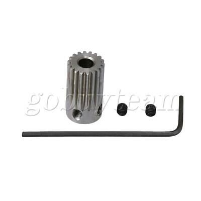 0.5 Mold 4mm Hole 18Teeth Stainless Steel Gear Wheel with Wrench & Screw