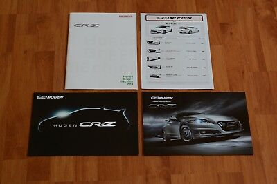 MUGEN Brochure Honda CR-Z + CRZ Mugen + Parts price list