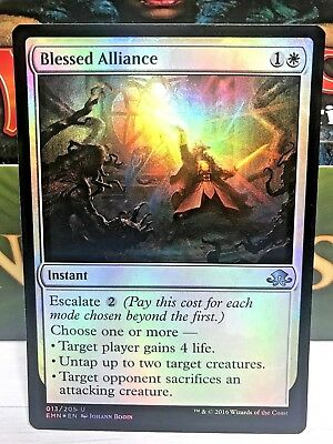 foil Blessed Alliance MTG ELDRITCH MOON