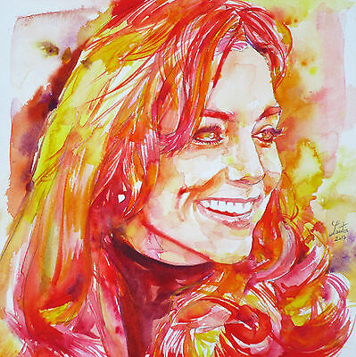 CATHERINE,Duchess of CAMBRIDGE portrait - ORIGINAL PAINTING ! kate middleton