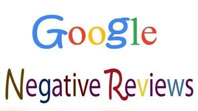 (5) Negative 👎🏼 Google Reviews Business Real 1 STAR Google Reviews Verified