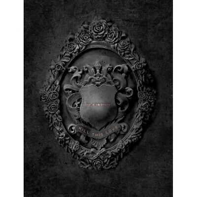BlackPink [KILL THIS LOVE] Mini Album BLACK Ver CD+Poster(On)+Book+Card+Etc+Gift