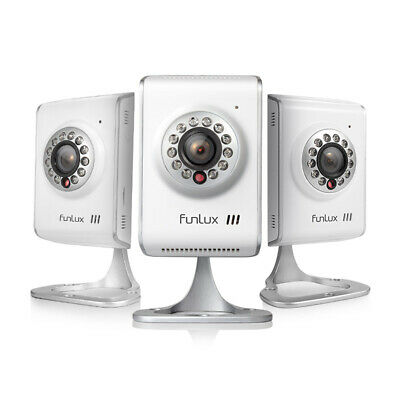 Funlux® 3 Pack 720P Network Wireless WiFi IP Home Security Camera Two Way Audio