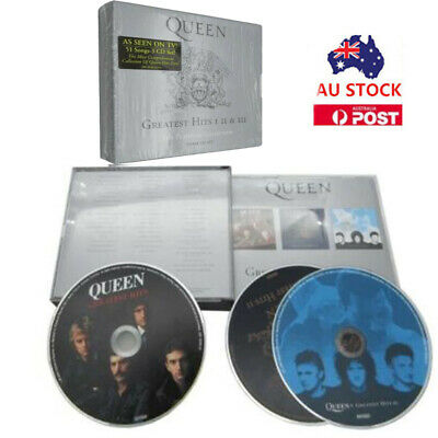Queen - Platinum Collection: Greatest Hits 1-3 New Cd 2019 Free Shopping Hot