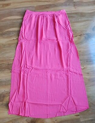 BRAND NEW. BODEN LADIES GORGEOUS Coral Pink Juliette Maxi Skirt WG717 SIZE 16L