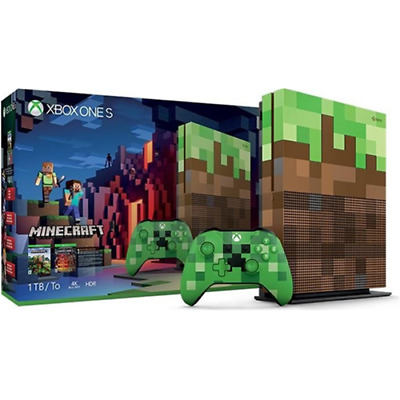 Microsoft Console Xbox One S 1Tb + Minecraft Limited Edition