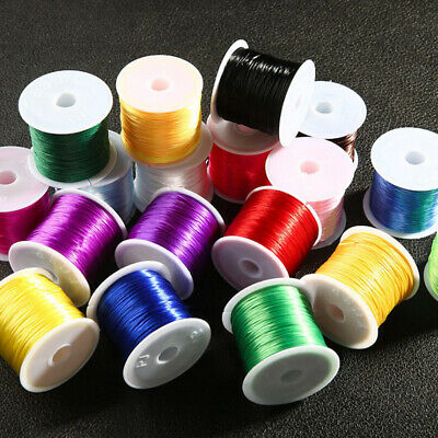 60M Long Shock Stretchy Elastic Crystal String Beading Cord Thread Wire