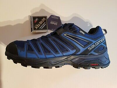 Details about Salomon x Ultra 3 Gtx Gore tex Men's Hiking Shoes 402423 Blue Trekking Shoes