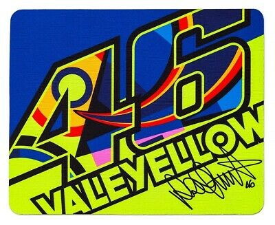 VR46 Mousepad Maus Pad VR|46 Valentino Rossi Dottore The Doctor Valeyellow
