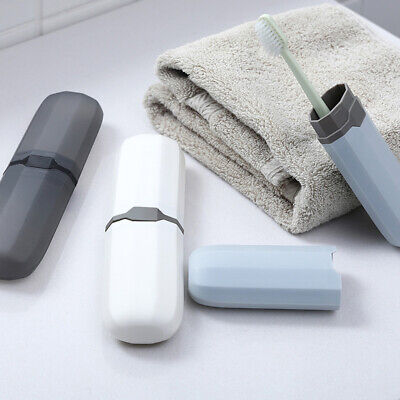 Travel Portable Toothbrush Toothpaste Holder Storage Box Case Pencil Container