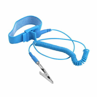 Anti-Static Electricity Grounding Wristband Wrist Strap Discharge Band