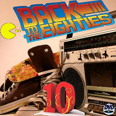 """Dj Video Mix """" BACK TO THE 80s 10 """" 70 Minutes Of Classic Hits!!! 1980 - '89"""