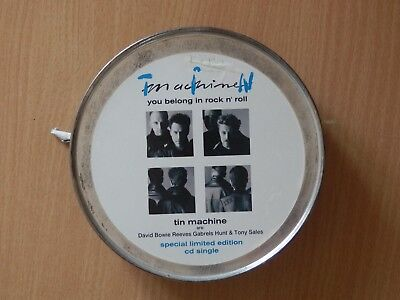 Bowie / Tin Machine - You Belong In Rock N' Roll Limited  Cd Single In Tin With