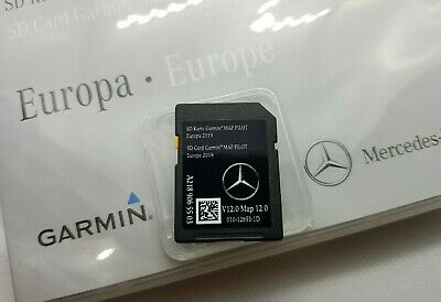 Brand New 2020 V12 Mercedes Garmin Map Sat Nav Sd Card (A218) A B Cla Gla Gle