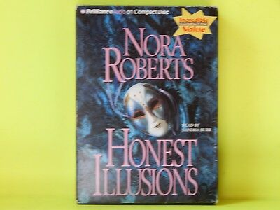 Honest Illusions by Nora Roberts (2007, CD, Abridged)