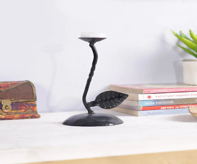 Black Color Tea Light Candle Holder Candle Stick Stand Party Home Decorative