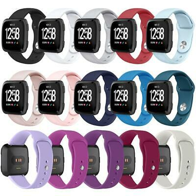 Sport Wrist Watch Band for Fitbit Versa Silicone Wristbands Watch Strap S L Size