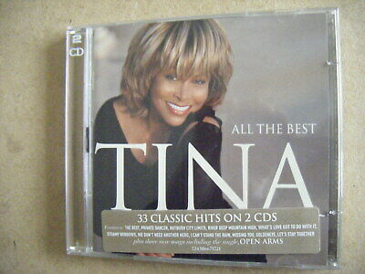 Tina Turner - All The Best - 33 classic hits on 2cds(stickered `JEWEL CASE) - VG