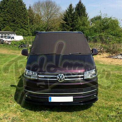 VW T6 Screen Cover Black out Blind Window Wrap Frost protect FREE 3 STEP MATS