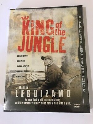 King of the Jungle (DVD, 2002) Brand New Sealed