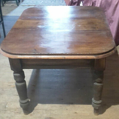 Victorian Farmhouse Table with Mahogany Top