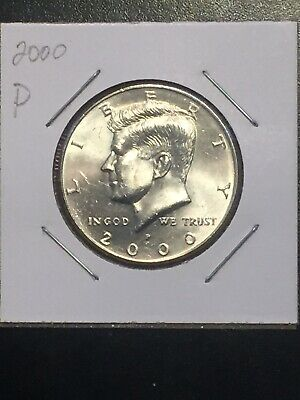 2000 P Kennedy Half Dollar - Great Coin. Great Book Filler. **Free Shipping**