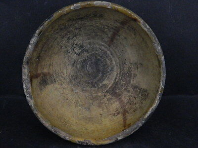 Ancient Glazed Bowl Islamic 1300 AD #PT15682