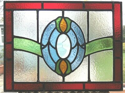 Original  Fully Restored Stained Glass Panel - Ref Sg361